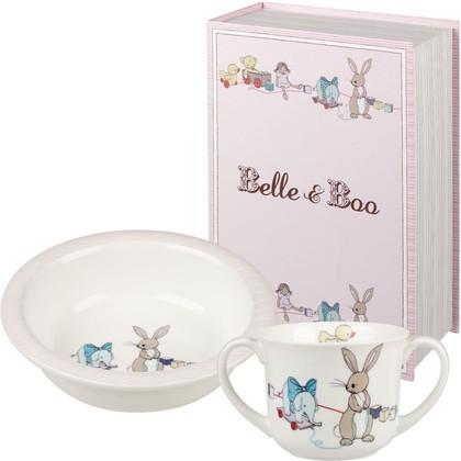 Набор для завтрака Кролик Бу и его друзья 2 предмета Queens BBFR00011