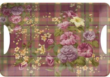 Поднос 47x33см Цветущая Шотландия Creative Tops 5107236