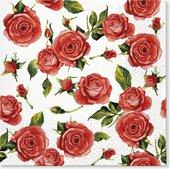 Салфетки для декупажа Paw Стильные розы, 33x33см, 20шт TL700500