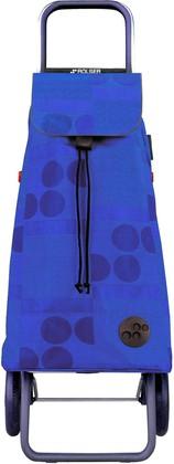 Сумка-тележка хозяйственная синяя Rolser LOGIC RG PAC010azul