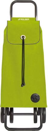 Сумка-тележка Rolser MF, зелёный лайм, 4 колеса IMX002lima