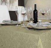 Скатерть водоотталкивающая Aitana Visconti, 140x200см, оливковый VISC/140200/duna