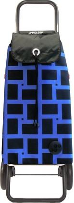 Сумка-тележка хозяйственная синяя ROLSER Logic RG IMX028azul