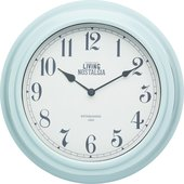 Часы настенные Kitchen Craft Living Nostalgia blue LNCLOCKBLU