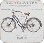Подставки под чашку KitchenCraft Bicycle 10.5x10.5, 6шт, пробка C000295