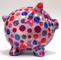 Копилка Свинья PEGGY розовая в горох Pomme-Pidou 148-00025/4