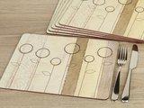 Подставки под тарелки на стол Creative Tops Естественная простота 30x23см, 6шт, пробка 5169672