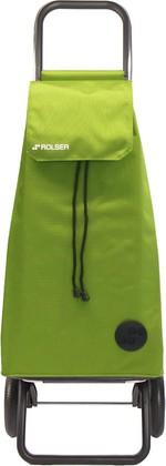 Сумка-тележка хозяйственная зелёный лайм Rolser RG MOUNTAIN MOU016lima