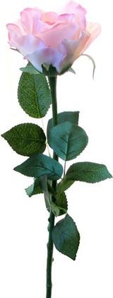 Цветок искусственный Роза Секси Пинк розовая 65см Top Art Studio WAF0337-TA