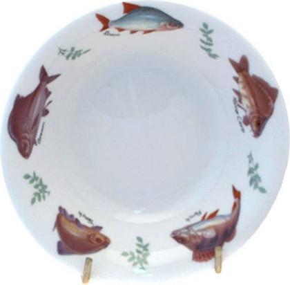Блюдце для фруктов Рыбалка Roy Kirkham XFISH1258