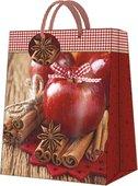 Пакет подарочный бумажный Paw Корица и яблоко 26.5x33.5x13см AGB028405