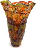 Ваза из цветного стекла 47см Top Art Studio ZB2193-TA