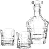 Набор для виски Leonardo Spiritii графин 700мл, 2 стакана 250мл 022765