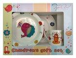 Набор детской посуды Top Art Studio Забавный зоопарк, 3пр. XTOPSYM1393