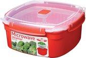 Пароварка-контейнер 3.2л Sistema Microwave 1103