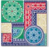 Салфетки для декупажа Paw Мозаика, 33x33см, 20шт SDL061200