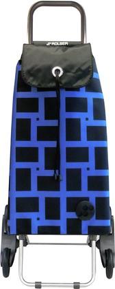 Сумка-тележка Rolser Geometrik, шагающая, синяя IMX027azul