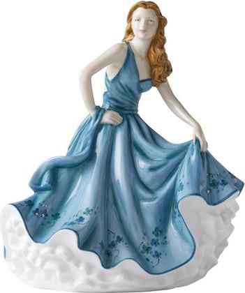 """Фарфоровая статуэтка """"Памела"""" (Pamela) из коллекции """"Прекрасные дамы"""" (Pretty Ladies) компании """"Роял Далтон"""" (Royal Doulton) высотой 22см, HNFISC24378"""
