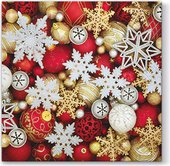 Салфетки для декупажа Paw Рождественские украшения, 33x33см, 20шт. SDL011900