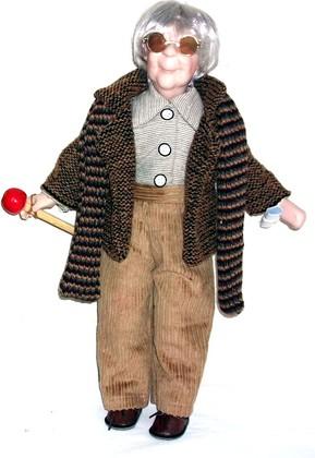 Кукла фарфоровая 41см Леопольд Top Art Studio WA1257-TA