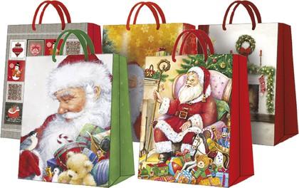 Пакеты подарочные МИКС № 3 26.5x33.5x13см AGB000305