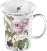 Кружка Цветущая Роза, 350мл Redoute Classic Creative Tops MGB2487