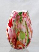 Ваза из цветного стекла Jozefina 40см Конфетти 21-326-400-48H