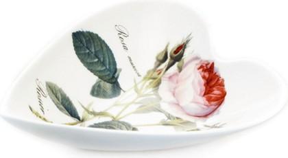 Блюдо Сердце малое Роза Редаут Roy Kirkham XROSA1371