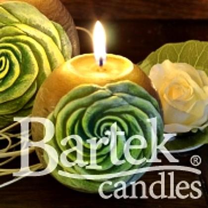 "Bartek Candles SAMBA Свеча ""Бутон"", шар 80мм, артикул 5907602671735"
