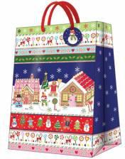 """Пакет подарочный """"Имбирный домик"""" 30x41x12см Paw AGB020702"""