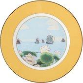 Тарелка Roy Kirkham Индийский дворец, 22см, жёлтый XBLEYEL1272