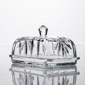 Маслёнка Crystalite Bohemia Бант, 17см 5K906/1/99P69/170