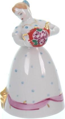 Статуэтка Дулёвский фарфор Девочка с чайником С2235