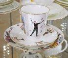 Набор кофейный ИФЗ Майская, Балет Ромео и Джульетта, 3 предмета 81.21564.00.1