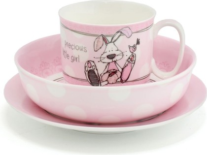 Набор детской посуды Lesser & Pavey Маленькое чудо, 3пр 150мл, для девочки LP40036