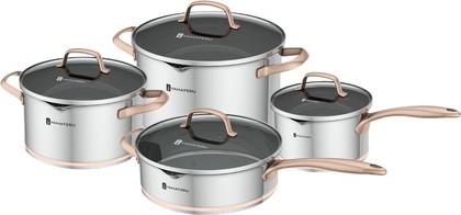 Набор посуды из нержавеющей стали, 8 предметов Yamateru AKARI YAKASET8