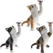 Статуэтка Lesser & Pavey Озорной котенок 12см, 3 вида, полистоун LP42002