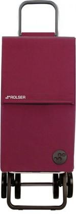Сумка-тележка хозяйственная сиреневая Rolser DOS+2 PARIS PAR005bassi