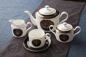 Чайный сервиз Персия 6/15 Top Art Studio YF1403-TA