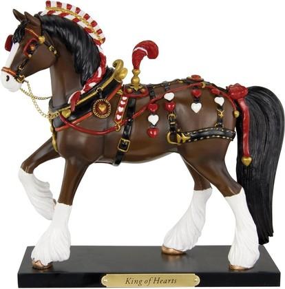 Статуэтка Лошадь Король сердец (King of Hearts), 16,5см Enesco 4024357