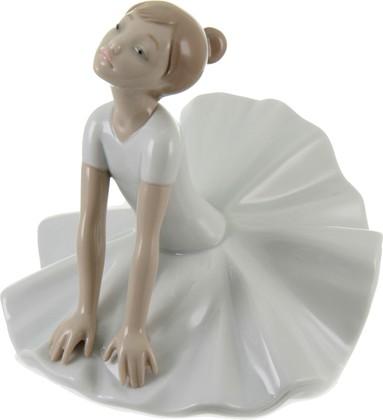 Статуэтка фарфоровая NAO На уроке балета (Thinking Pose) 15см 02001612