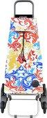 Сумка-тележка хозяйственная сине-красная Rolser RD6 MOUNTAIN MOU117azul/rojo