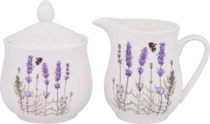 Набор сахарница и молочник Ashdene I Love Lavender 515623