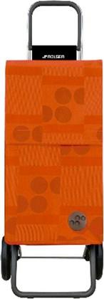 Сумка-тележка Rolser Logos Paris, 2 колеса, оранжевая PAR014mandarina