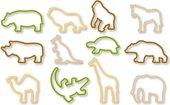 Формочки для вырезания печенья, 12шт Tescoma Kids Zoo 630930.00