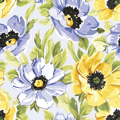 Салфетки Мягкие Цветы 3-сл., 20шт 33x33см Paw TL308500