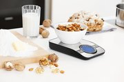 Цифровые кухонные весы 5кг/1г из матовой нержавеющей стали Brabantia 480607