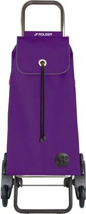Сумка-тележка хозяйственная фиолетовая Rolser I-Max MF IMX092More