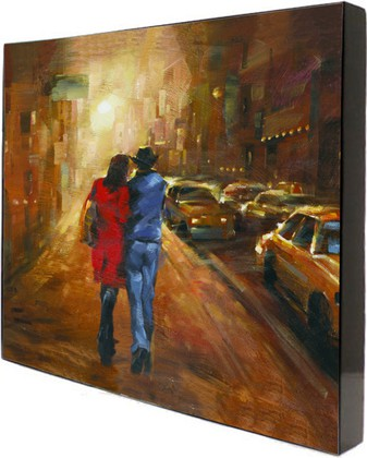 Картина Прогулка под луной 58x58см Top Art Studio WDP1739-TA