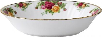 Ваза для вторых блюд открытая 23см Розы Старой Англии Royal Albert IOLCOR00167